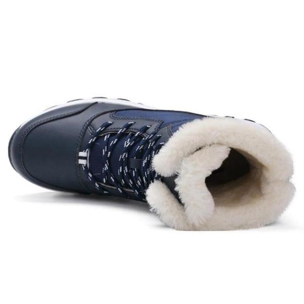 Waterproof plush winter boots women shoes platform winter shoes woman snow boots ladies shoes non slip 22