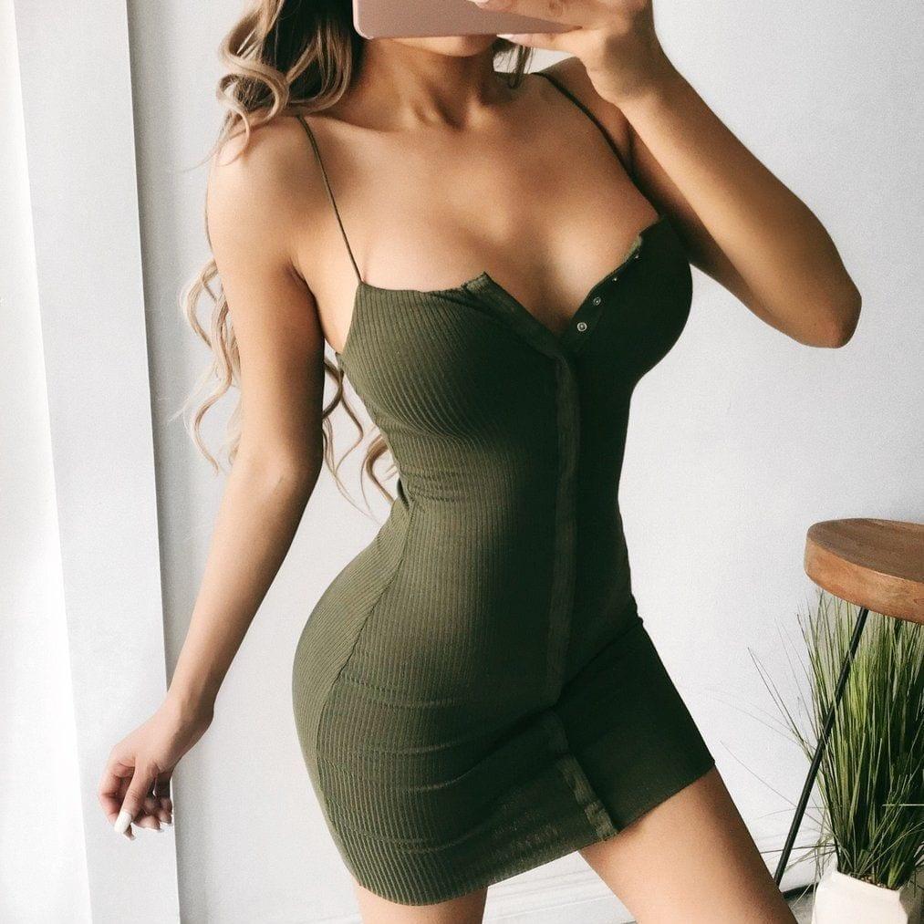 Womens Sleeveless Bandage Bodycon Dress Evening Party Club Short Mini Dress Ladies stretch elegant vestido Sexy