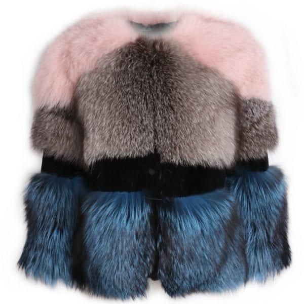 lady fur jacket women real fur jacket natural fur jacket upto 5xl 5