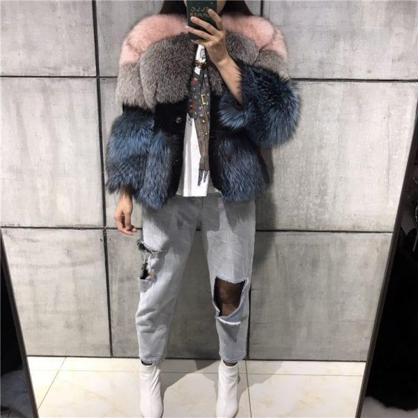 lady fur jacket women real fur jacket natural fur jacket upto 5xl 8