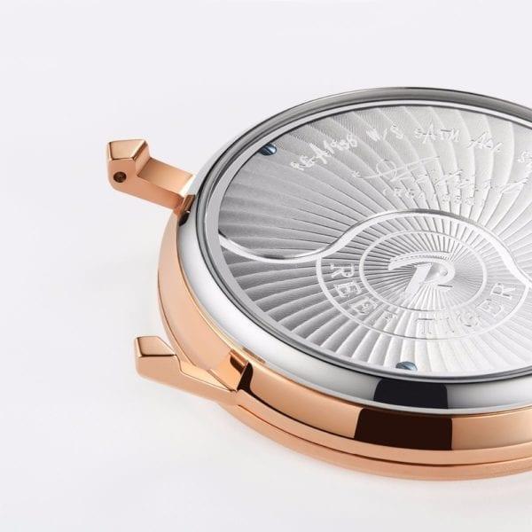 2019 New Reef Tiger RT Luxury Gear Quartz Watches for Men Genuine Leather Strap Skeleton Watches 5