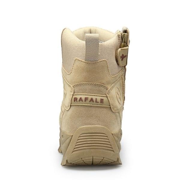 2019 New Winter Snow high quality military Flock Desert boots men tactical combat boots botas work 4