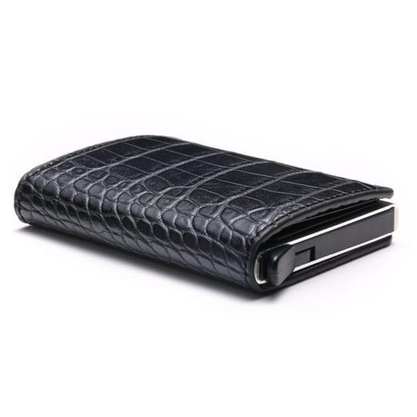 2019 Smart Wallet Business Card Holder Hasp Rfid Wallet Aluminum Metal Credit Business Mini Card Wallet 3