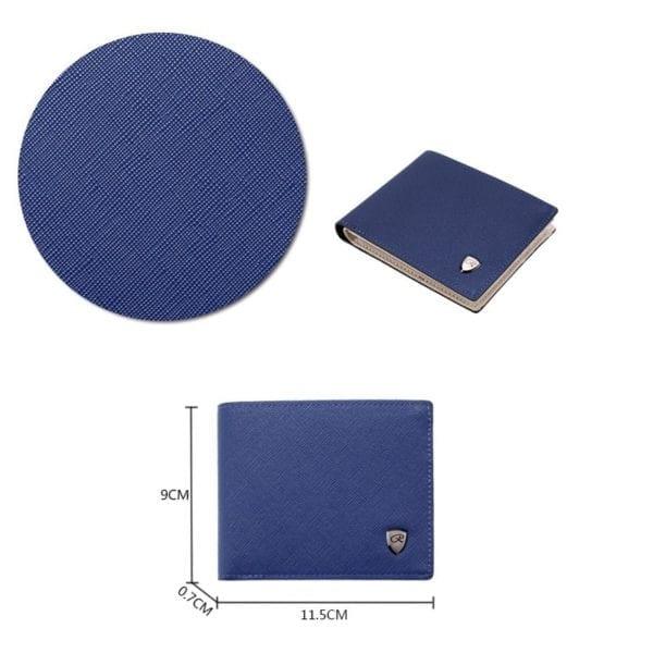 2019 Wallet men business multi card slots Pu Leather Coin Purses item Organizer big capacity Cuzdan 5