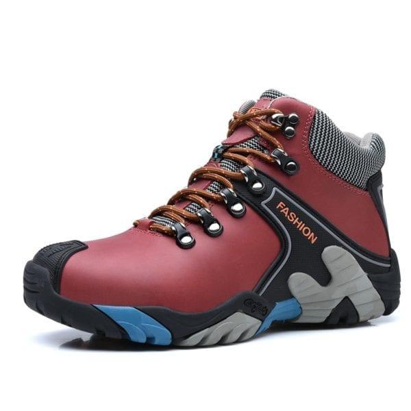MIXIDELAI Men Boots Size 38 46 Fashion Men Winter Boots Waterproof Men Snow Boots Lace Up 5