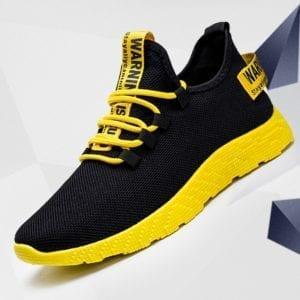 Men Sneakers 2019 New Breathable Lace Up Men Mesh Shoes Fashion Casual No slip Men Vulcanize