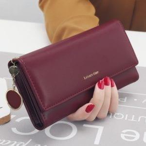 New Fashion Women Wallets Long Style Multi functional wallet Purse Fresh PU leather Female Clutch Card.jpg 640x640