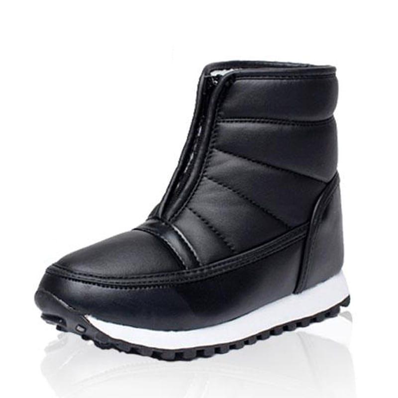 New Winter Boots Men Boots Waterproof Snow Boots Male Shoes Slip On Plush Warm Men Shoes