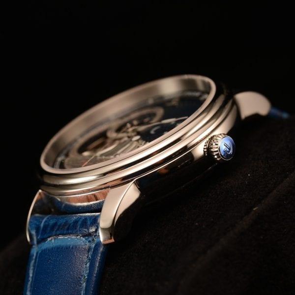 Reef Tiger RT Blue Tourbillon Automatic Watch Luxury Fashion Watch for Women Men Unisex Watches 2019 3