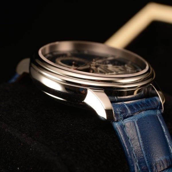 Reef Tiger RT Blue Tourbillon Automatic Watch Luxury Fashion Watch for Women Men Unisex Watches 2019 4