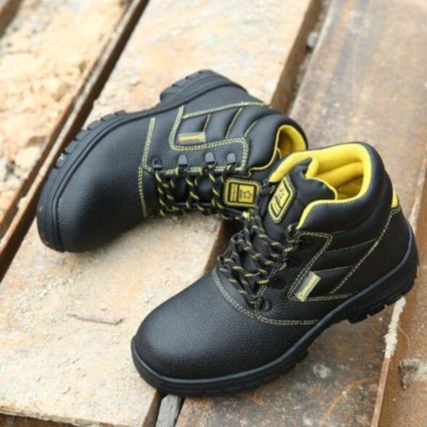 Shoes men work boots winter warm outdoor steel toe cap anti smashing anti piercing outdoor lace 11