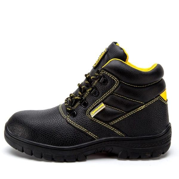 Shoes men work boots winter warm outdoor steel toe cap anti smashing anti piercing outdoor lace 8