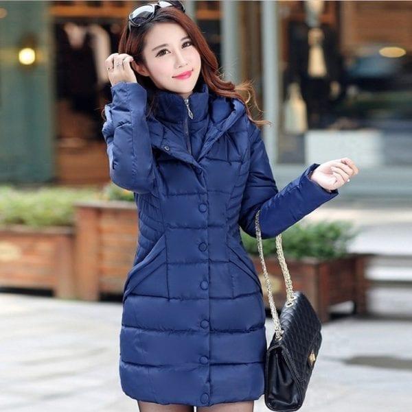 ZOGAA 2019 Women Parka Winter Down Cotton Jacket Warm Thick Hooded Coat Casual Female Winter Jacket 1
