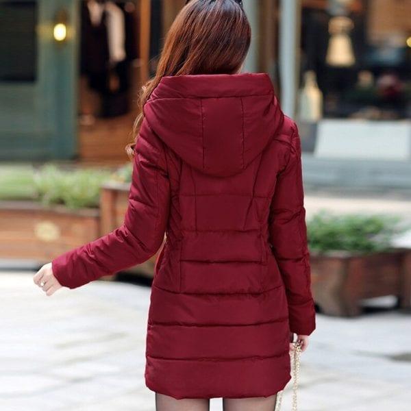 ZOGAA 2019 Women Parka Winter Down Cotton Jacket Warm Thick Hooded Coat Casual Female Winter Jacket 5