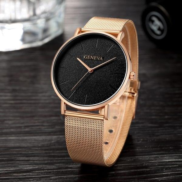 2019 Women s watch Bayan Kol Saati fashion gold Rose women s watch silver woman reloj 1