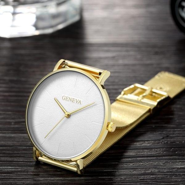 2019 Women s watch Bayan Kol Saati fashion gold Rose women s watch silver woman reloj 4