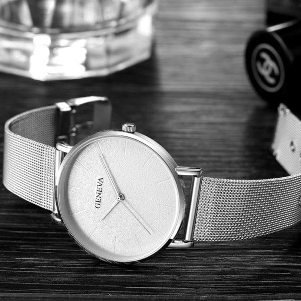 2019 Women s watch Bayan Kol Saati fashion gold Rose women s watch silver woman reloj 5