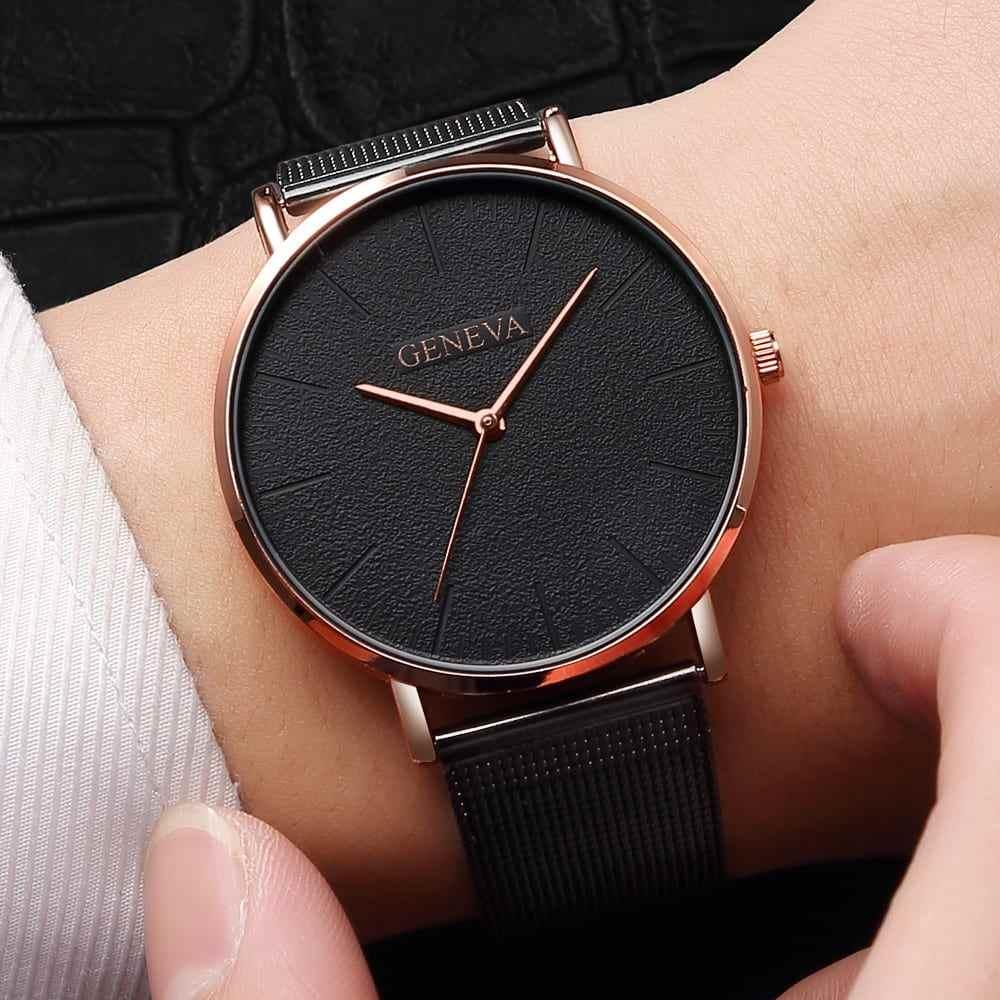 2019 Women s watch Bayan Kol Saati fashion gold Rose women s watch silver woman reloj