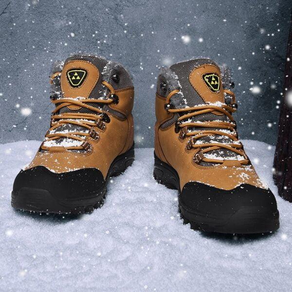 New Plus Velvet Men s Boots Winter Snow Boots Waterproof Fashion Comfortable Footwear Bottes Pour Hommes 11