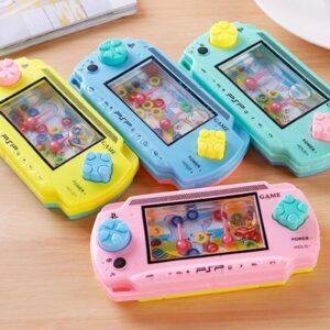 1pc Random Color Children Water Machine Water Ferrule Game Consoles Toy Kids Classic Intellectual Girl Boy