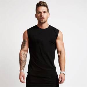 2020 Gym Workout Sleeveless Shirt Tank Top Men Bodybuilding Clothing Fitness Mens Sportwear Vests Muscle Men 6