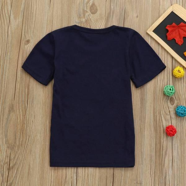 Children Summer Boys Kids Airplane Print Short Sleeve Tops Toddler Baby Cute T Shirt Newborn Infant 2
