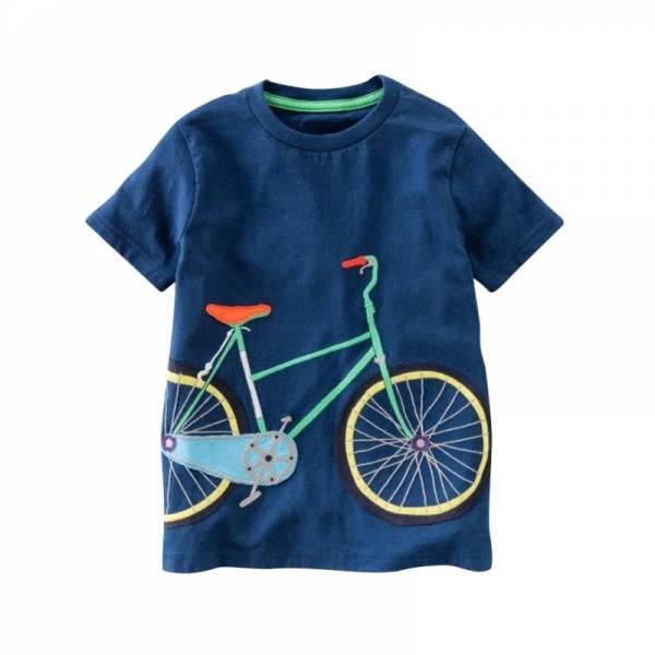 Cotton Boys T Shirt Kids Shirts Baby Boys Casual Short Sleeve Car Print T shirt For 7
