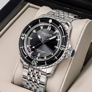 Reef Tiger RT Top Brand Men Mechanical Steel Dive Watches Sapphire Crystal Bracelet Watches Luminous Watch